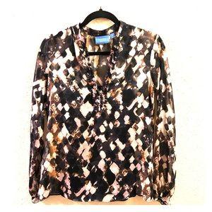 Simply Vera sheer blouse